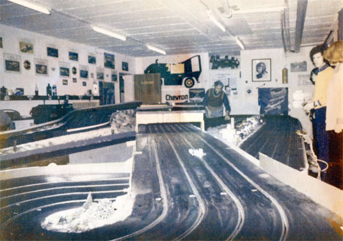 ehemalige Slotcarbahn des SAC Stolberg